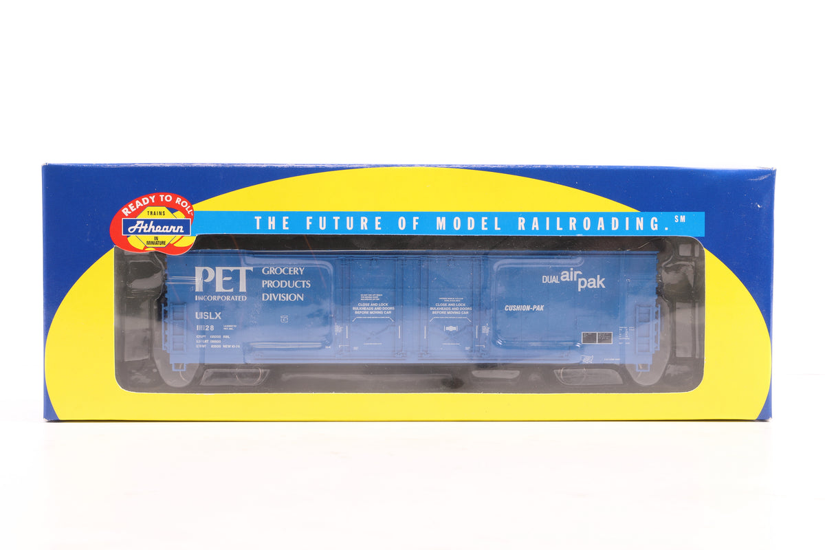Athearn HO Pair of 50' Double-plug Door Boxers inc, 91346 & 47