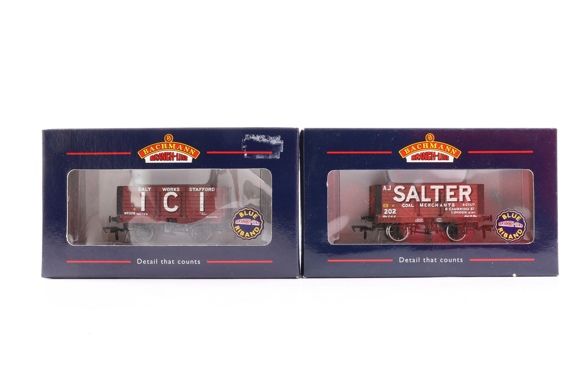 Bachmann OO Rake of 9 Wagons, Incl. 37-105, 37-077, 33-801D, 37-150, 37-150A, 37-155, 37-154, 37-103 + 37-152