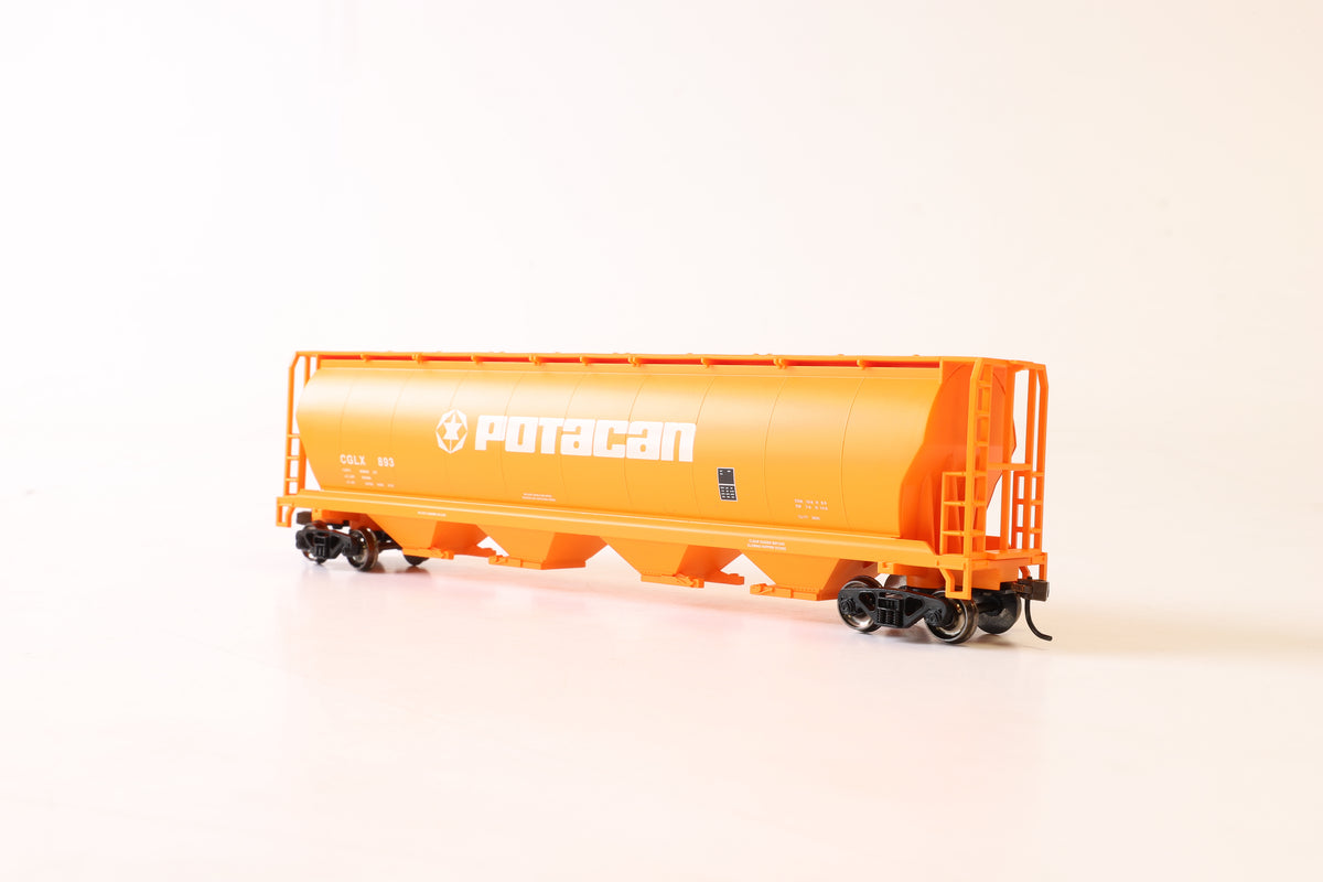 Bachmann HO 19141 Cylindrical Grain Hopper Potacan