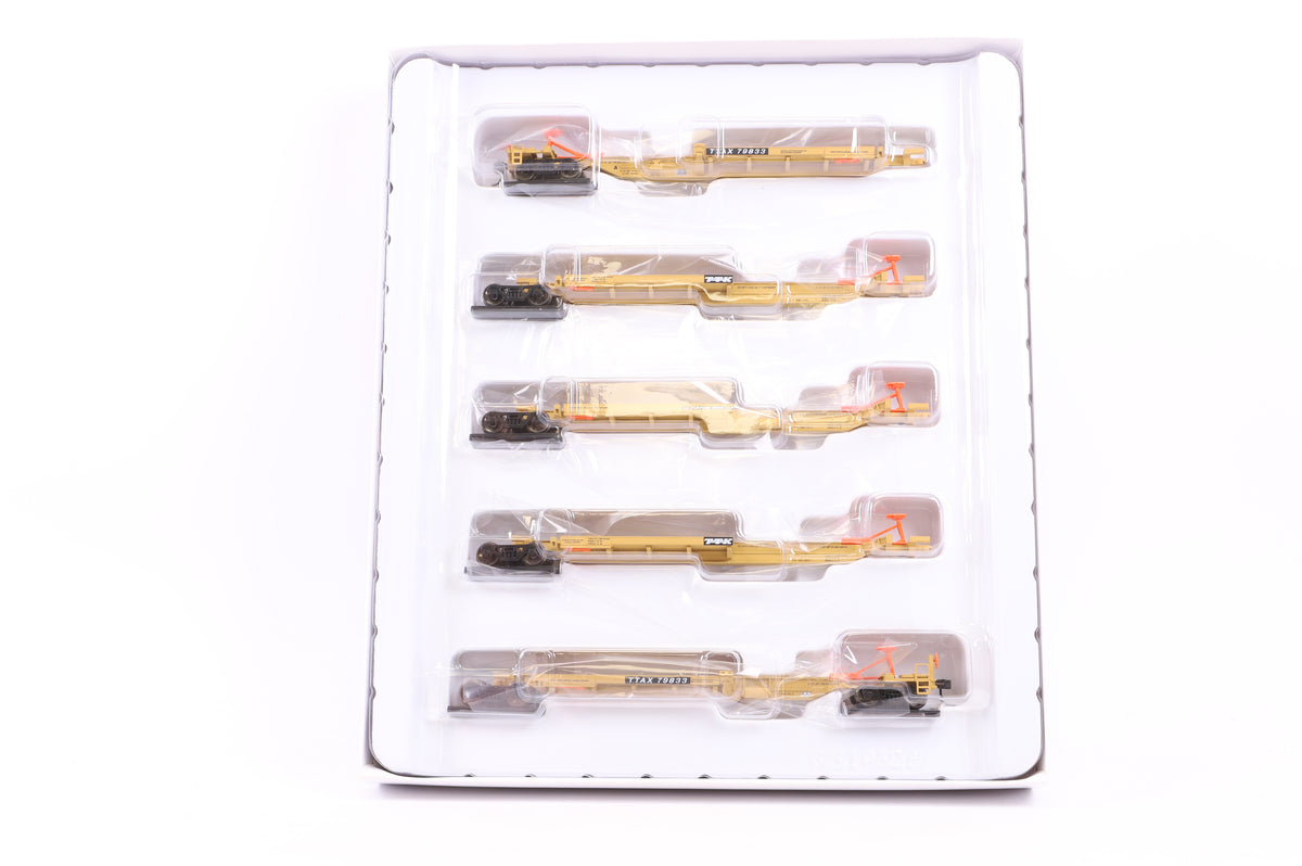 Walthers HO 932-40704 263' 5-Unit All Purpose Spine Car TTX #79833