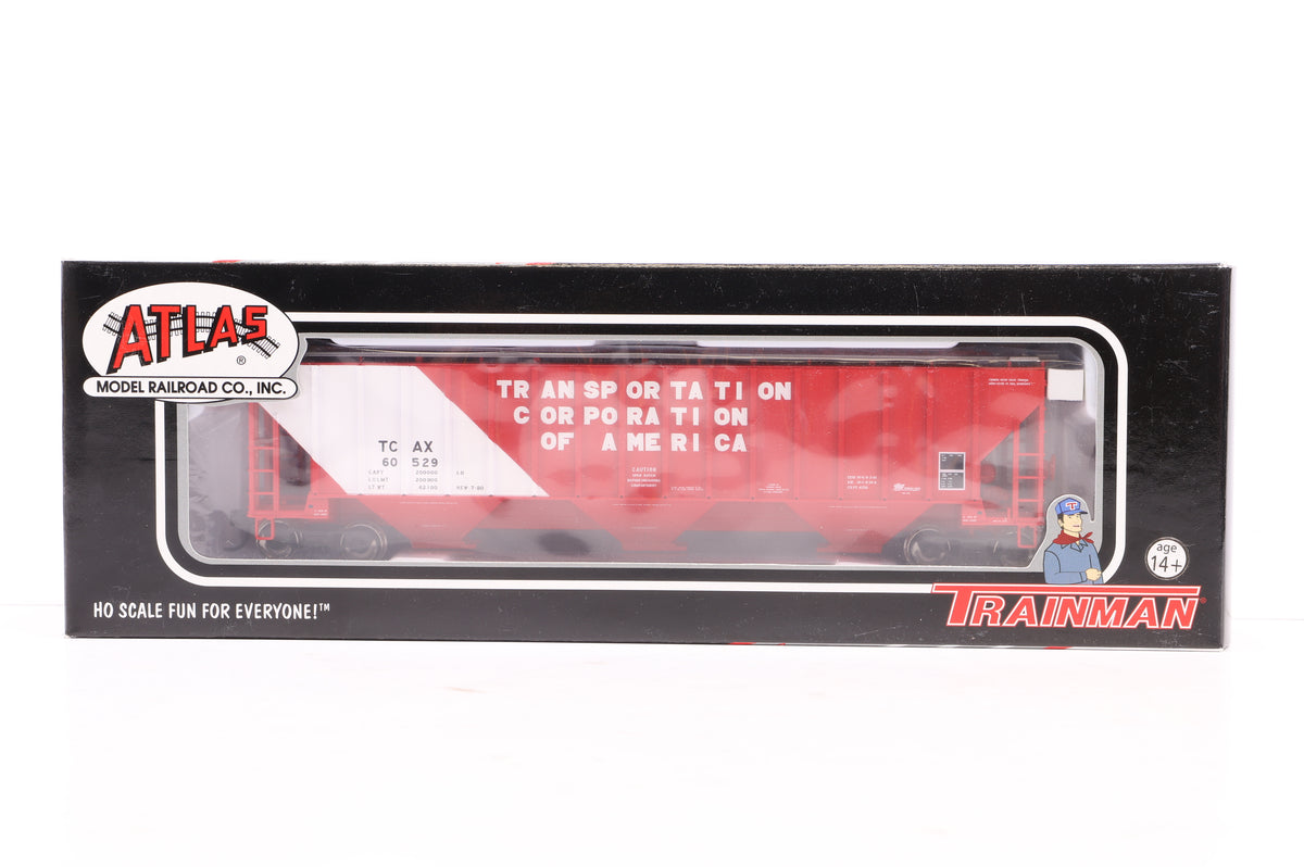 Atlas HO Pair of Thrall 4750 Covered Hopper Car inc, 20 000 908 & 906