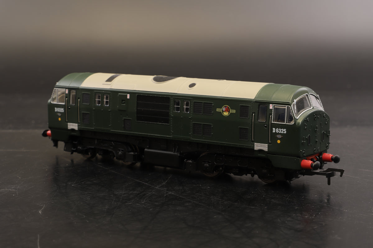 Dapol Class 4D-012-004 Class 22 D6325 BR Green No WP Font A Disc H/Code, DCC Fitted