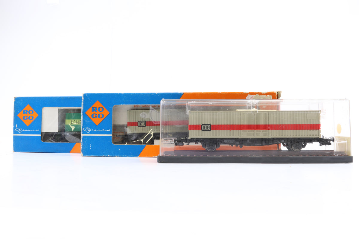 Roco/Rowa HO Rake of 7 Wagons Incl. 46316, 4341, 4319 x3, 4362 & 2318