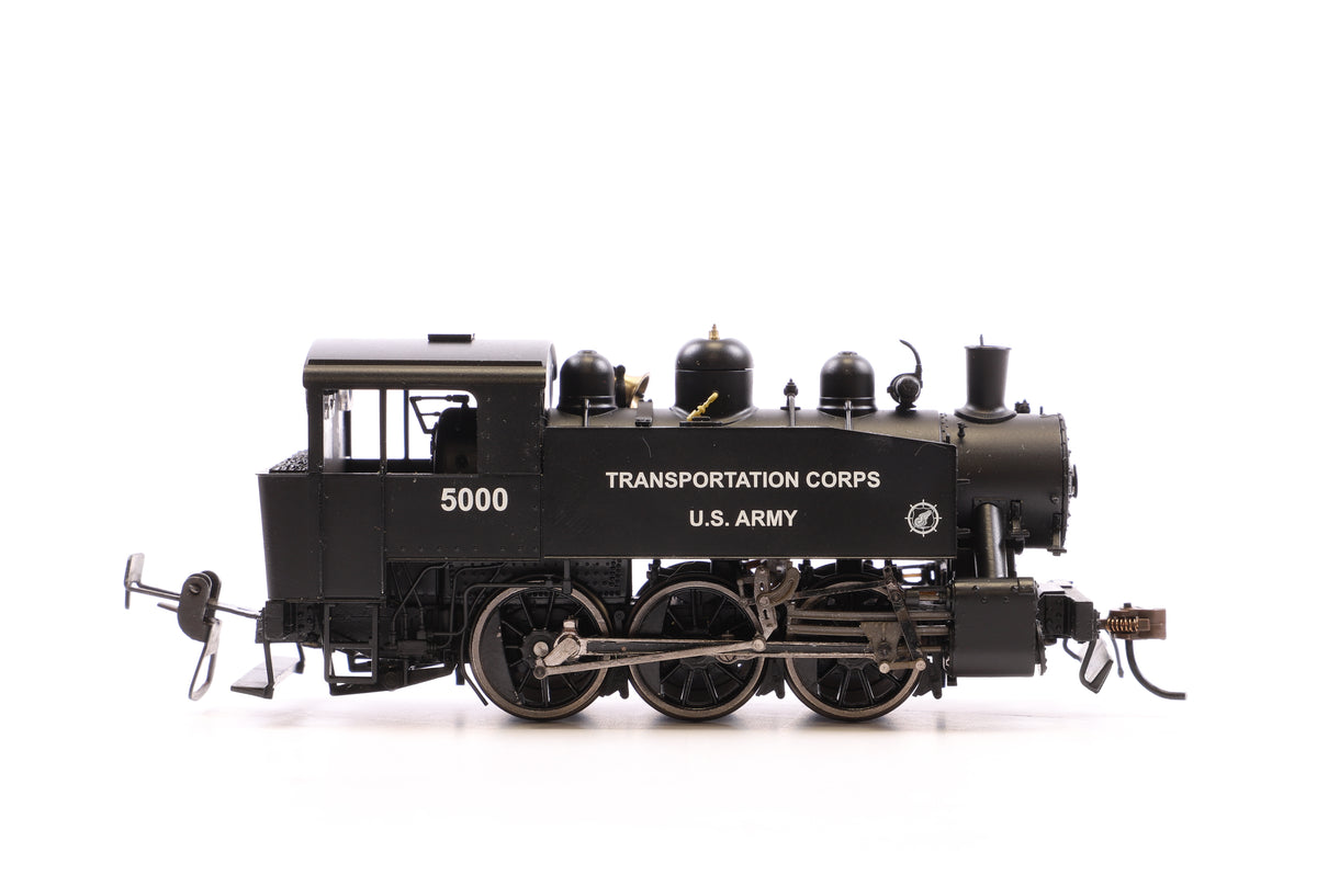 Rivarossi HO HR2522 Steam Loco, S100 type, Transportation corps, U.S Army, Road No. 5000