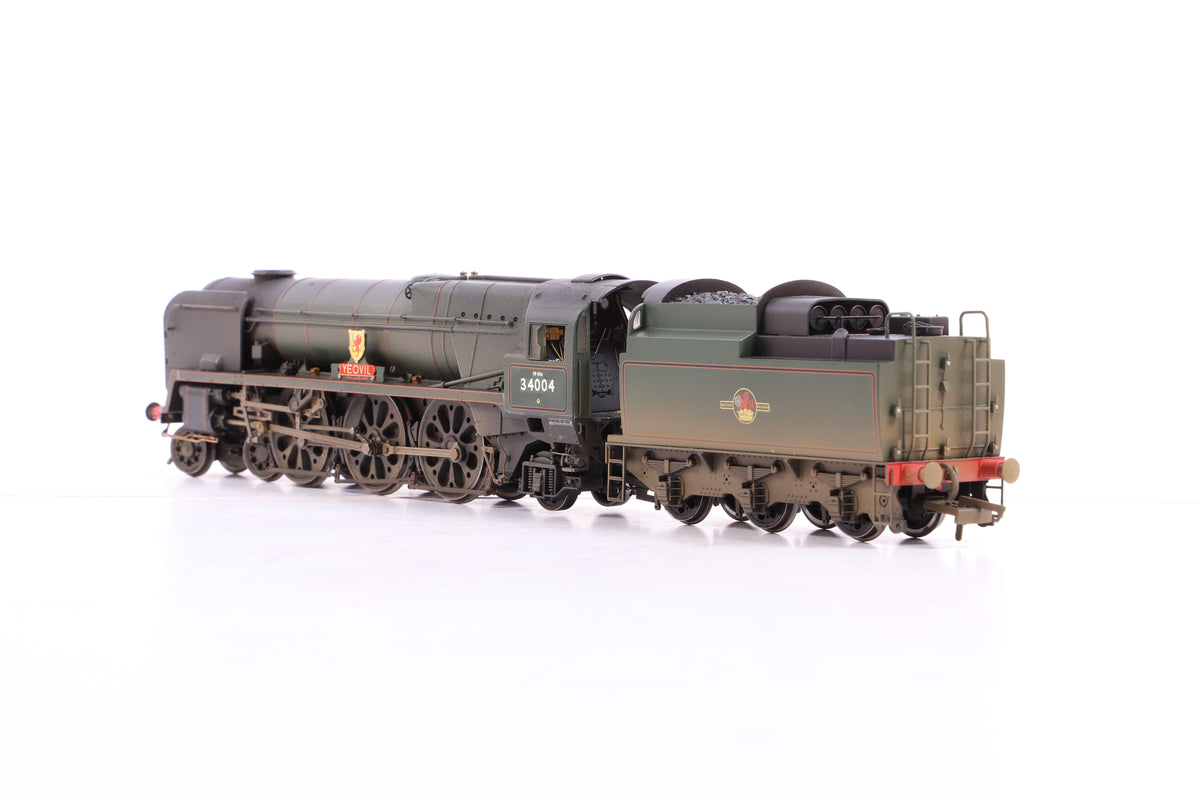 Hornby OO BR 4-6-2 West Country Class '34004' 'Yeovil', Weathered - Re-name & No.