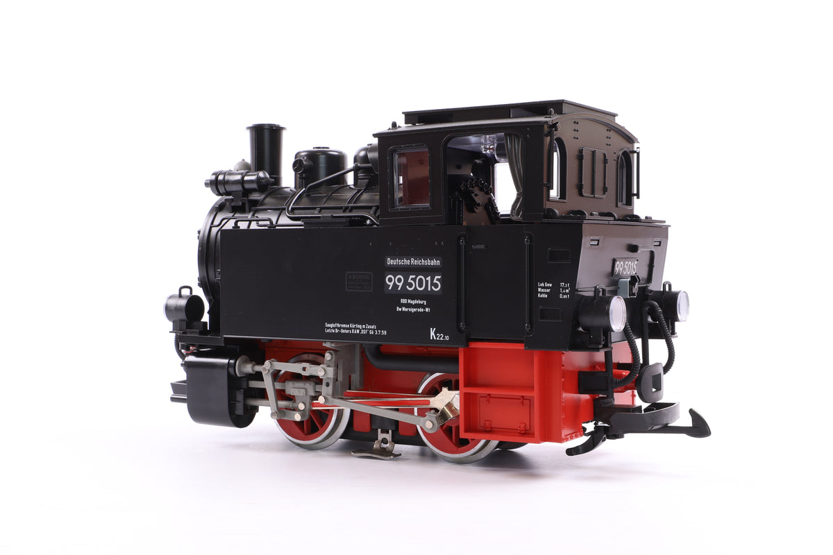 LGB G Scale 20752 Steam Dampflokomotive 99 5015, MFX Sound
