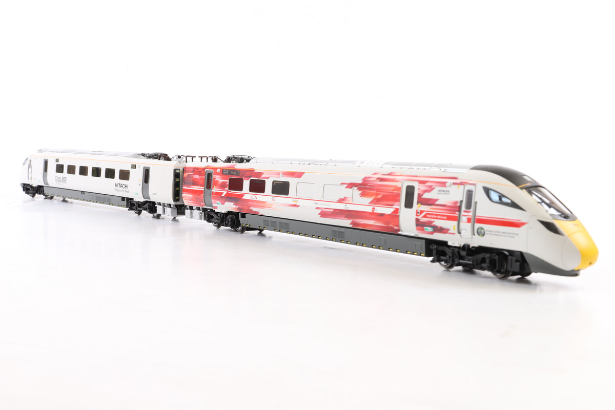 Hornby OO R3579 Hitachi Class 800 Test Livery Train Pack, Limited Ed.