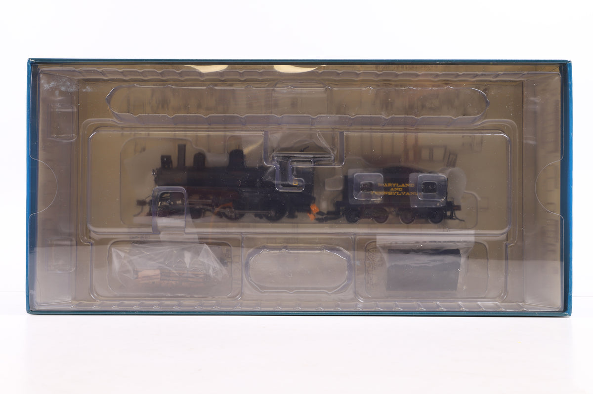 Spectrum HO 85105 Richmond Modern 4-4-0 Loco Maryland & Pennsylvania #6 w/Steel Cab, DCC Sound