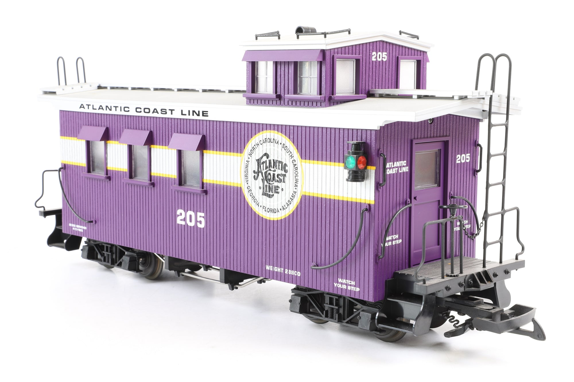 USA Trains G Scale R12015 Atlantic Coast Line Woodsided Caboose