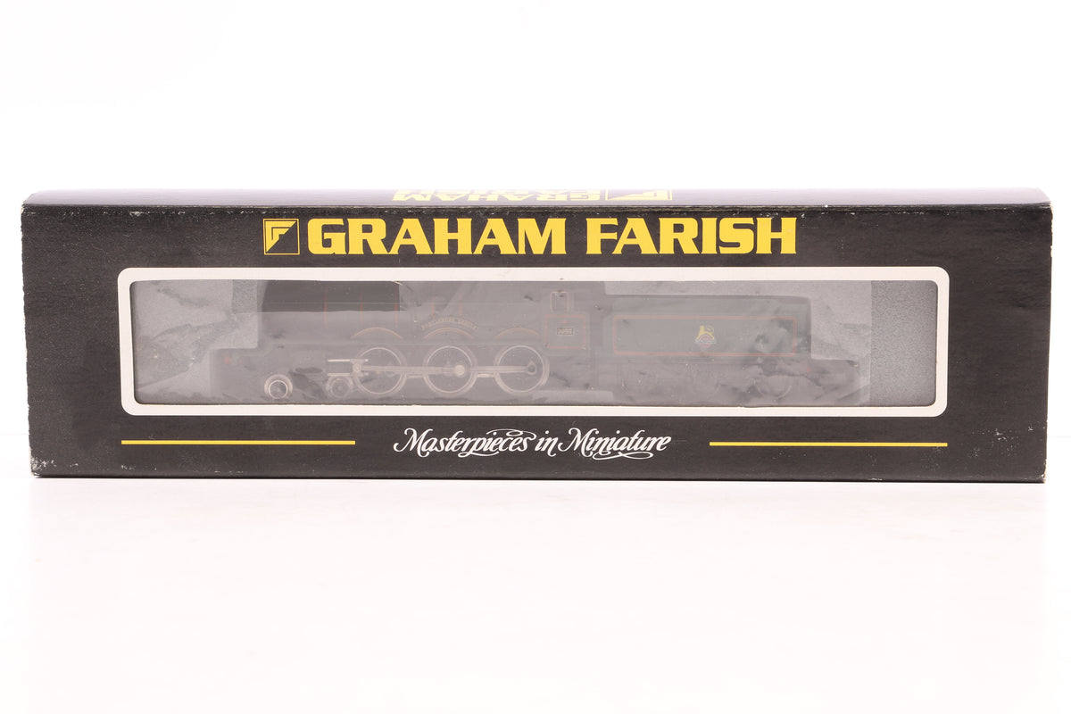 Graham Farish N Gauge 372025 Castle Class '7033' Hartlebury BR Green E/Emblem