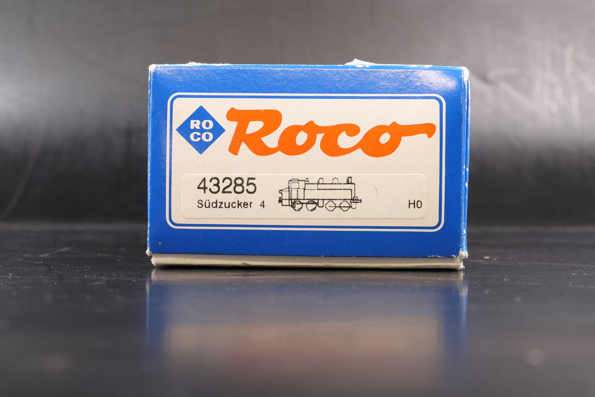 Roco HO 43285 Sudzucker 4, DCC Fitted