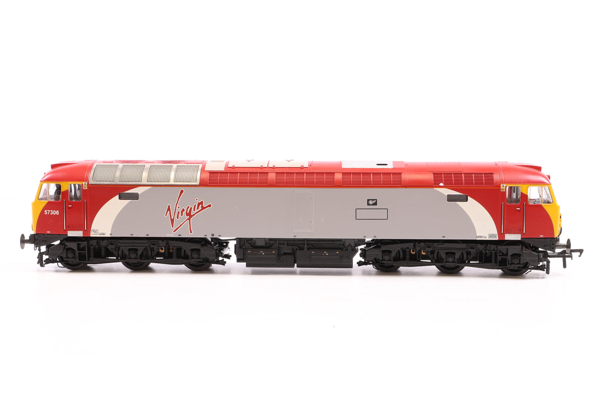 Bachmann OO 32-760Z Class 57/3 Diesel Loco Virgin Trains 57306 'Jeff Tracy', Excl. Hereford Model Centre