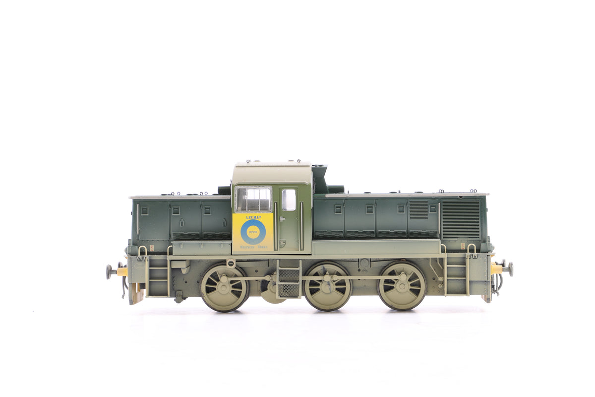 Heljan OO 1405 Class 14 Blue Circle Cement, Weathered