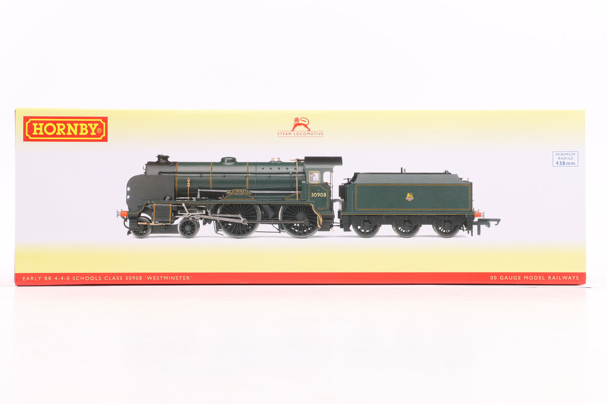 Hornby R3311 BR 4-4-0 Schools Class Locomotive '30908' Westminster