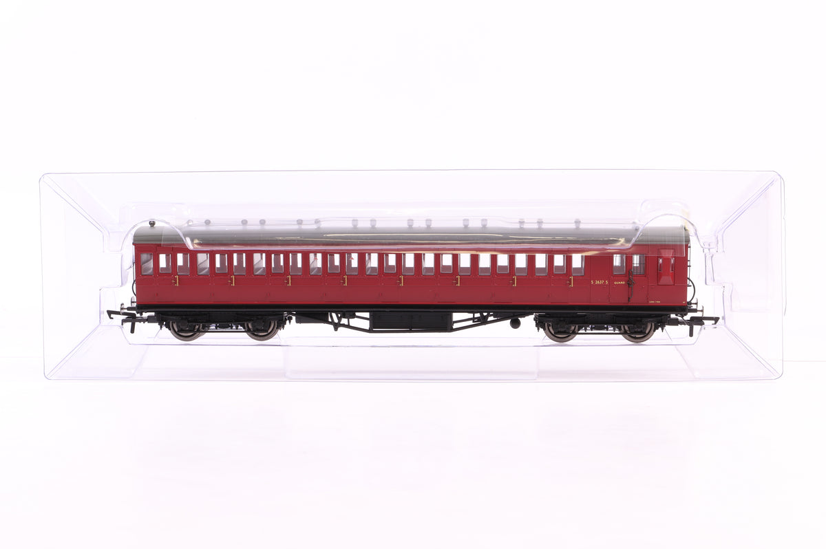 Hornby OO BR Ex LSWR Rake of 4 Coaches Inc, R4746, 47, 48 & 49