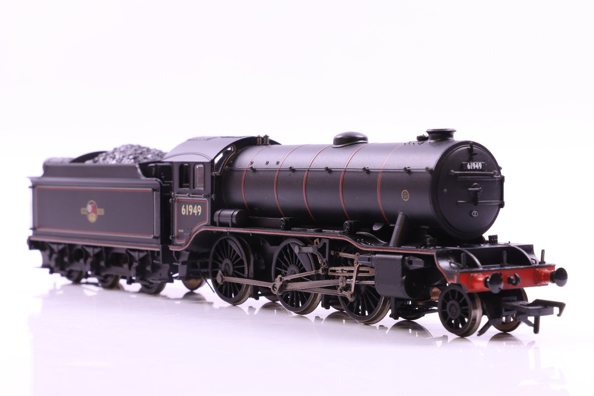 Bachmann OO 32-277 K3 61949 BR Lined Black L/Crest Stepped Tender