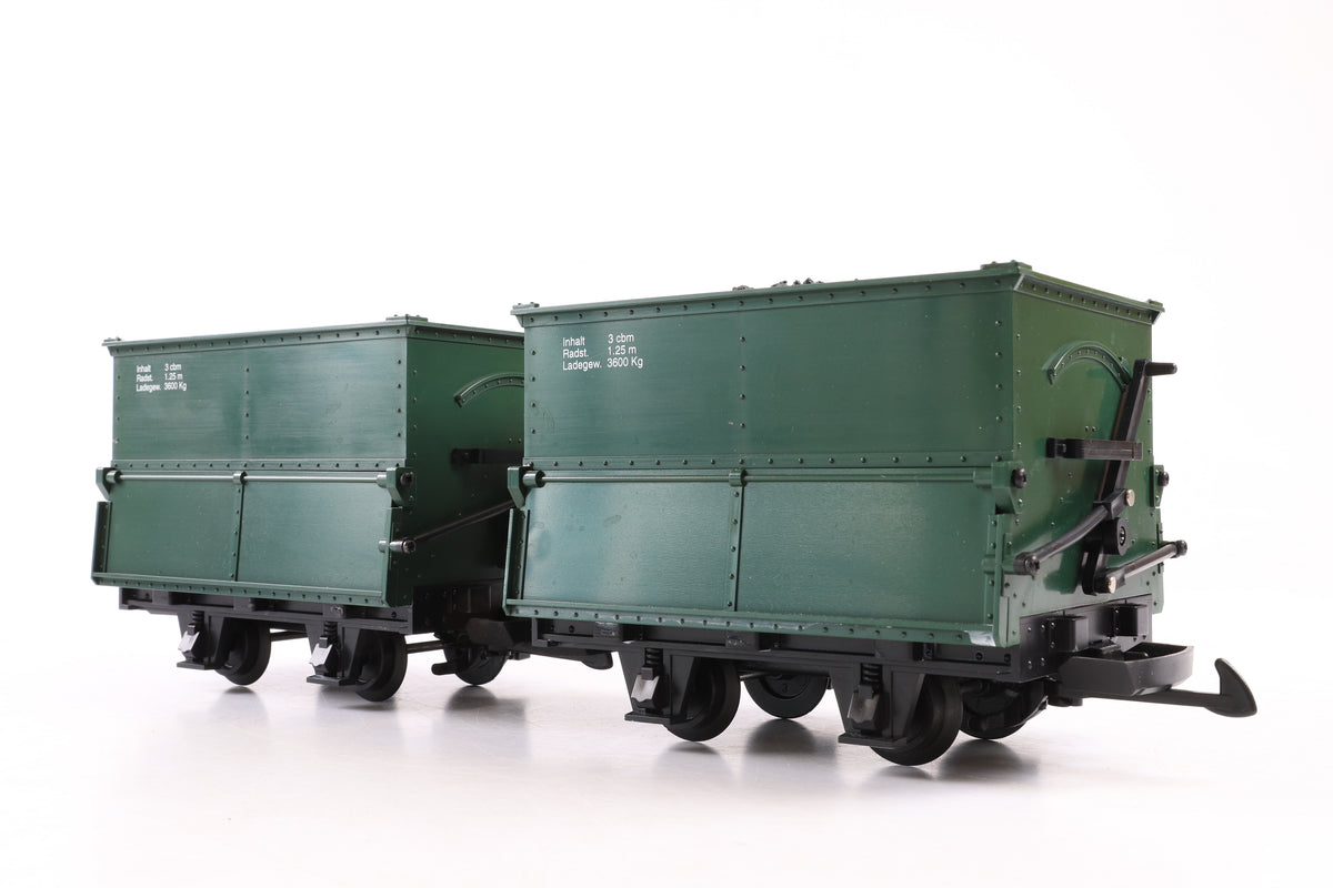 LGB G Scale 40190 Field Railroad Bulk Goods Cars