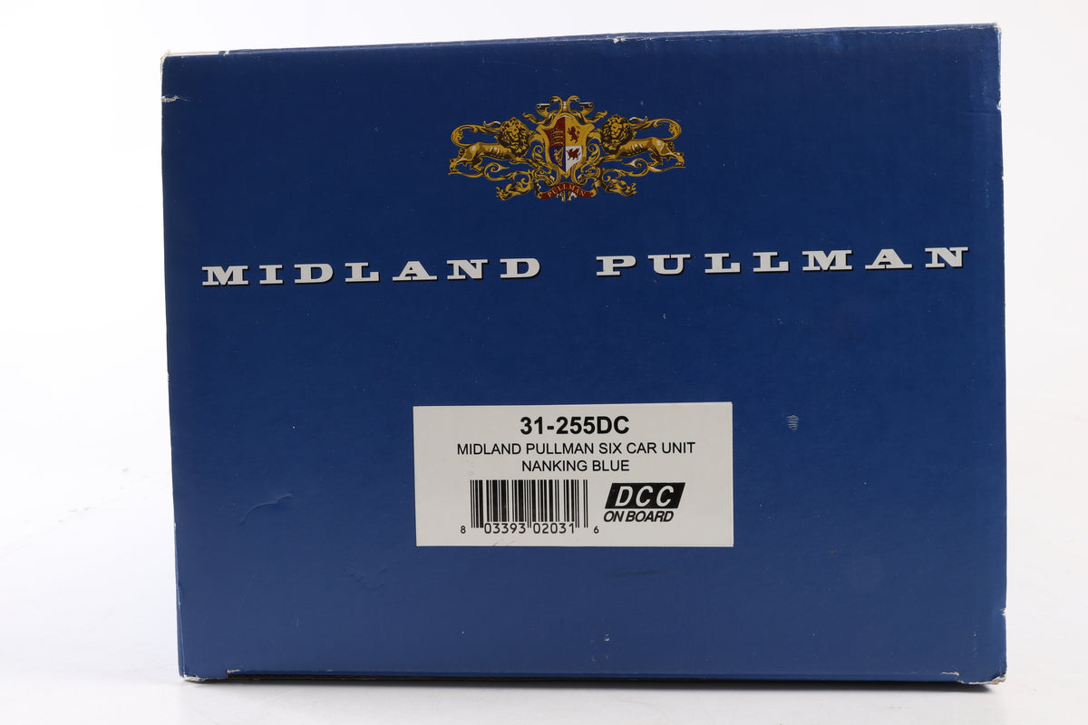 Bachmann OO 31-255DC Midland Pullman Six Car Unit Nanking Blue, DCC Fitted