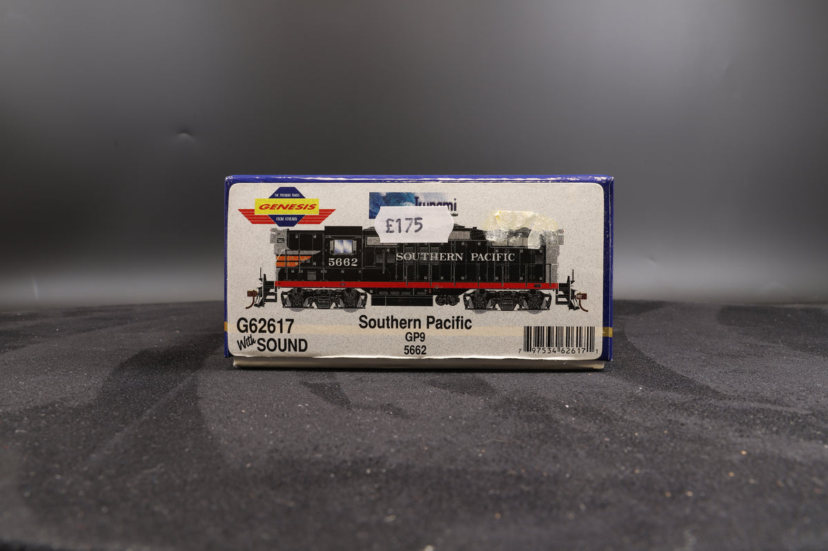 Athearn Genesis G62617 Southern Pacific GP9 5662 - With Sound
