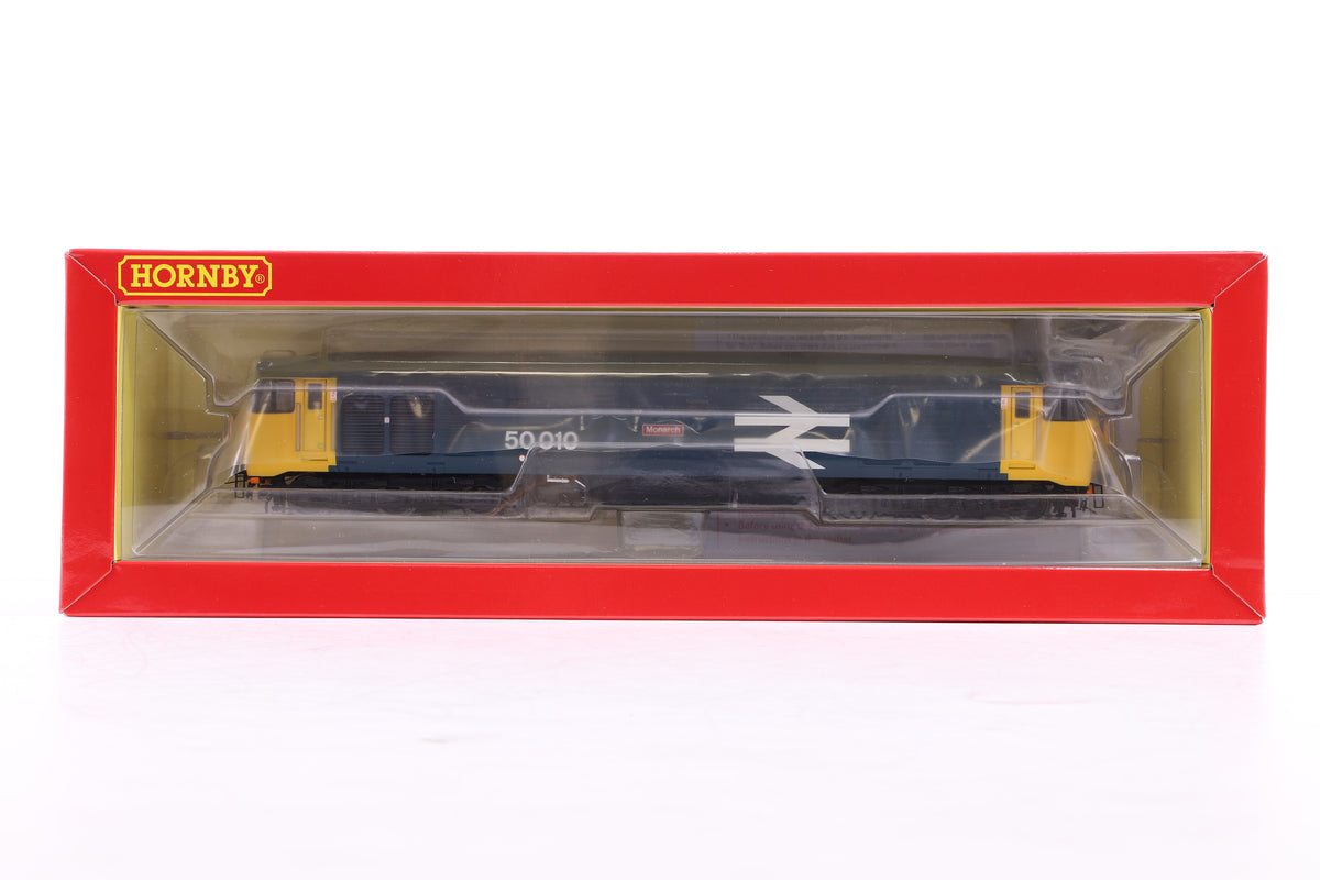 Hornby OO R3672 BR Co-Co Class 50 'Monarch' (Kernow Exclusive)