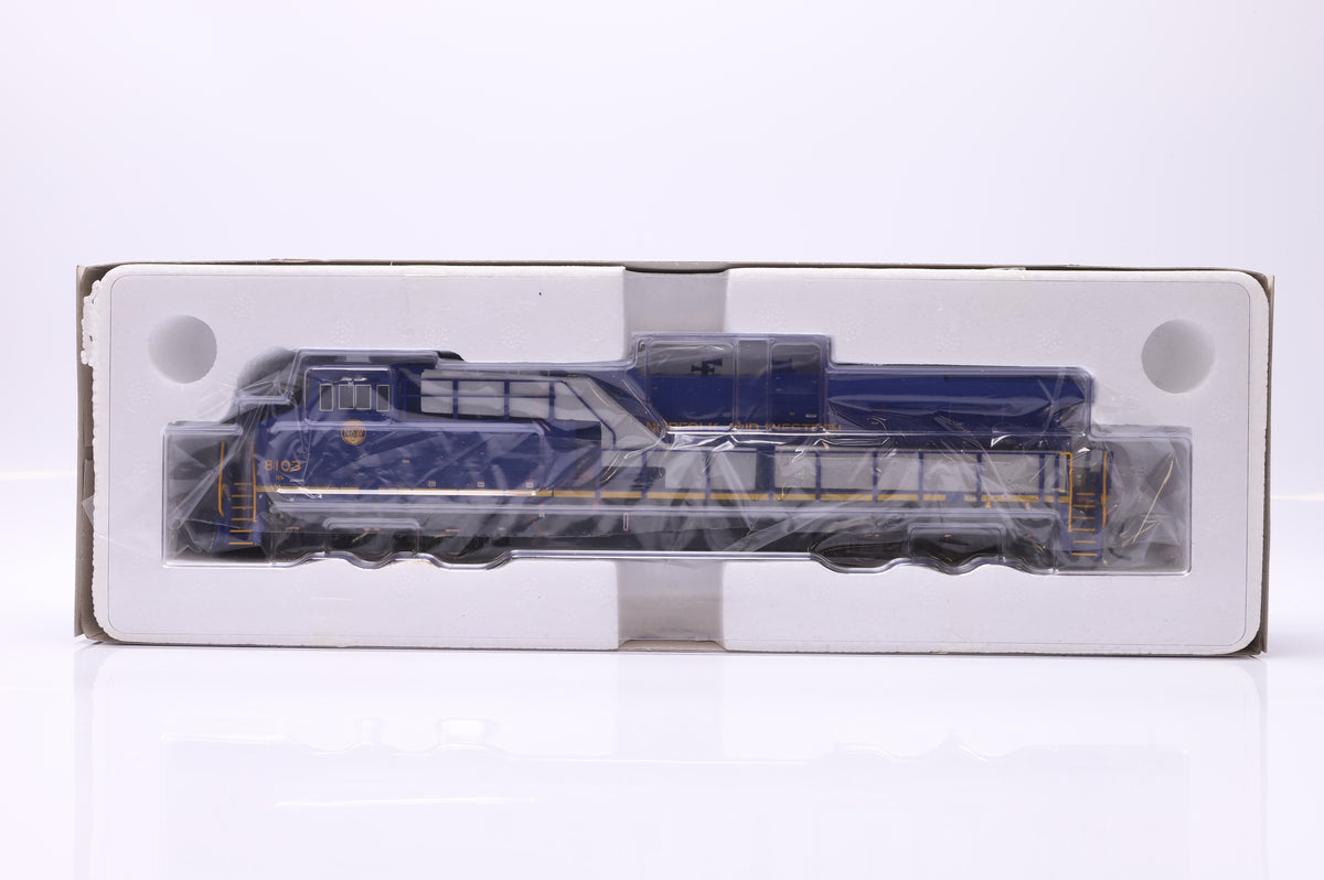 InterMountain HO ES44AC Locomotive With Sound 49713S-01 Norfolk & Western Car no. 8103