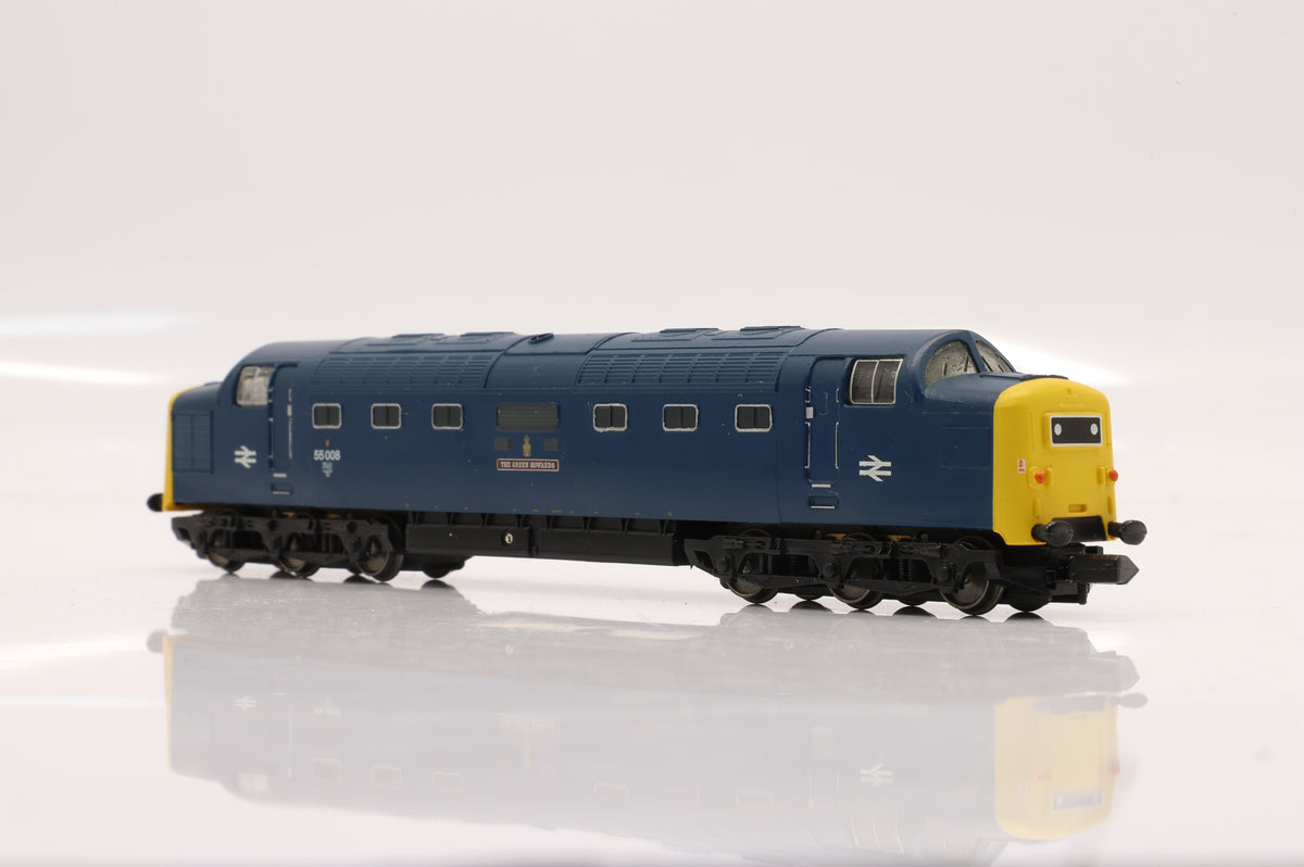 Graham Farish 371-278 Class 55 Loco '55008' 'The Green Howards' BR Blue