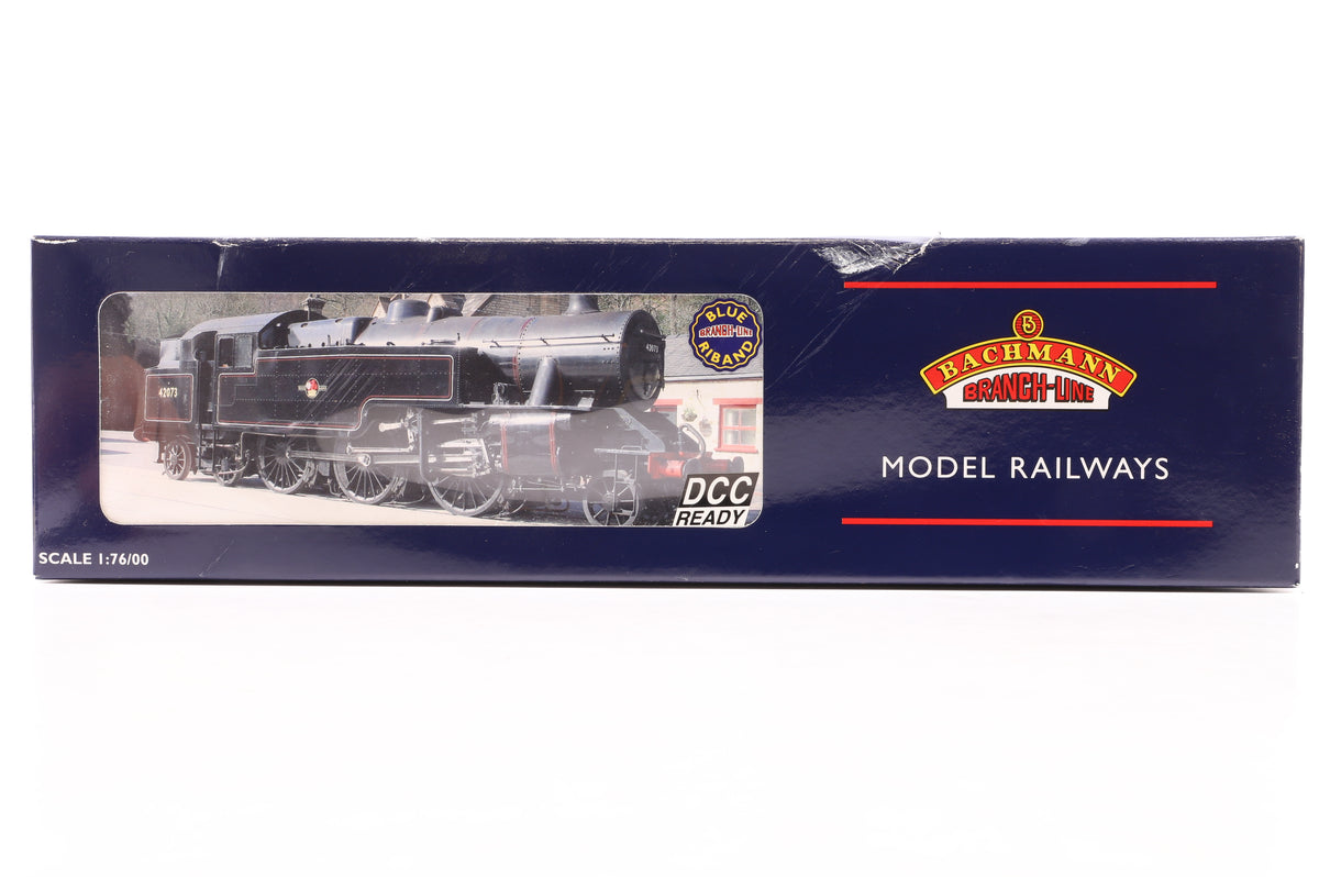 Bachmann OO 32-877 Fairburn Tank 42073 BR Lined Black Late Crest