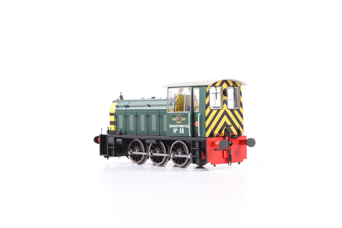 Heljan OO 2523 Class 05 Shunter DEPARTMENTAL No.88 BR green