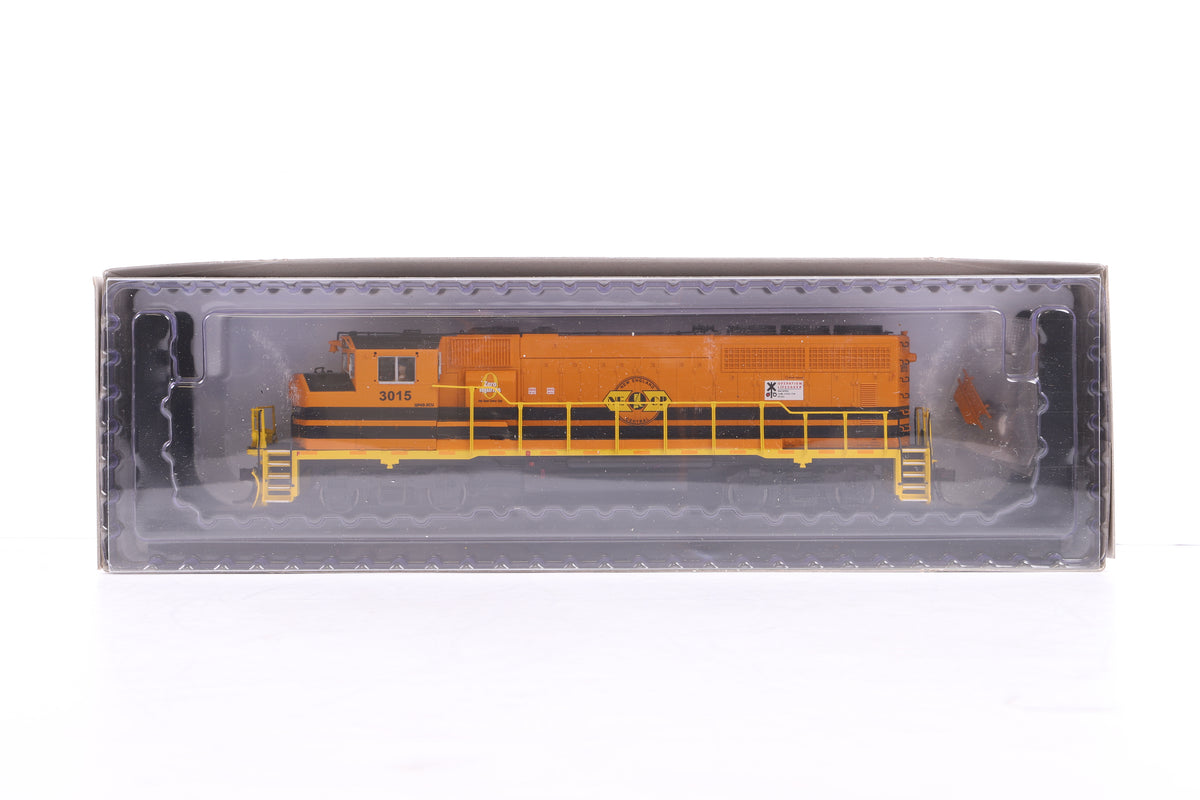 Atlas HO #10 002 715 GP40-2(W) New England Central Road #3015, DCC Sound