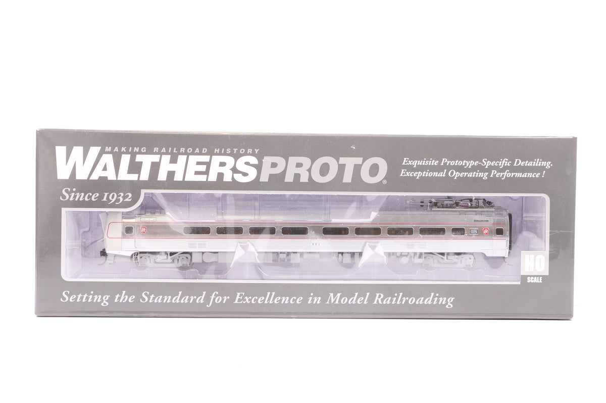 Walthers HO 920-14839 85' Budd Metroliner Parlor Car Pennsylvania #882 (Deluxe Edition), DCC Sound