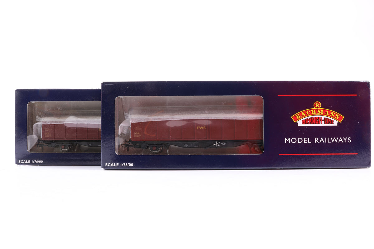 Bachmann OO Rake of 5 wagons, Incl. 37-606 x 2, 38-057, 38-143 + 38-121