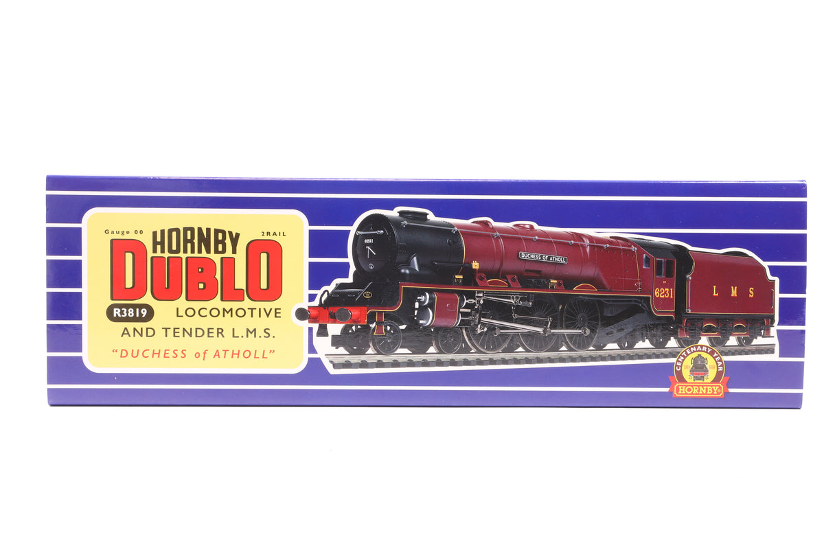 Hornby OO R3819 LMS 6231 'Duchess of Atholl' Centenary Year Limited Edition 1940