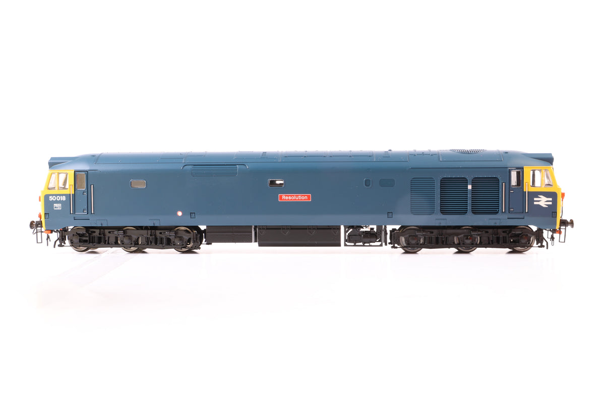 "Hornby OO Gauge R2348 BR Co-Co Diesel Electric ""Resolution"" Class 50"