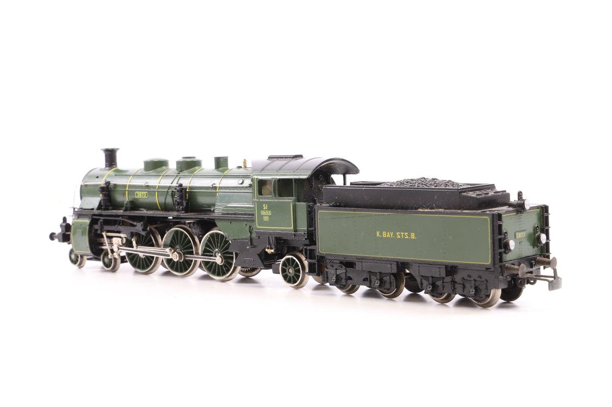 Marklin HO 8392-SD Bavarian Steam Loco 3673