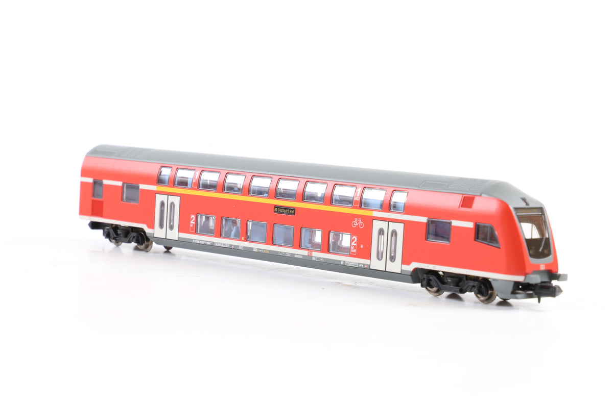 Trix/Minitrix N 11478 Electric Locomotive BR 110 426-4 DB AG + Rake of 7 coaches