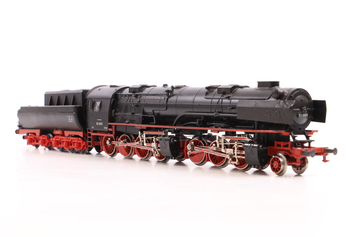 Marklin HO BR53 2-8-8-0 DB Black 53 0001, DCC Fitted