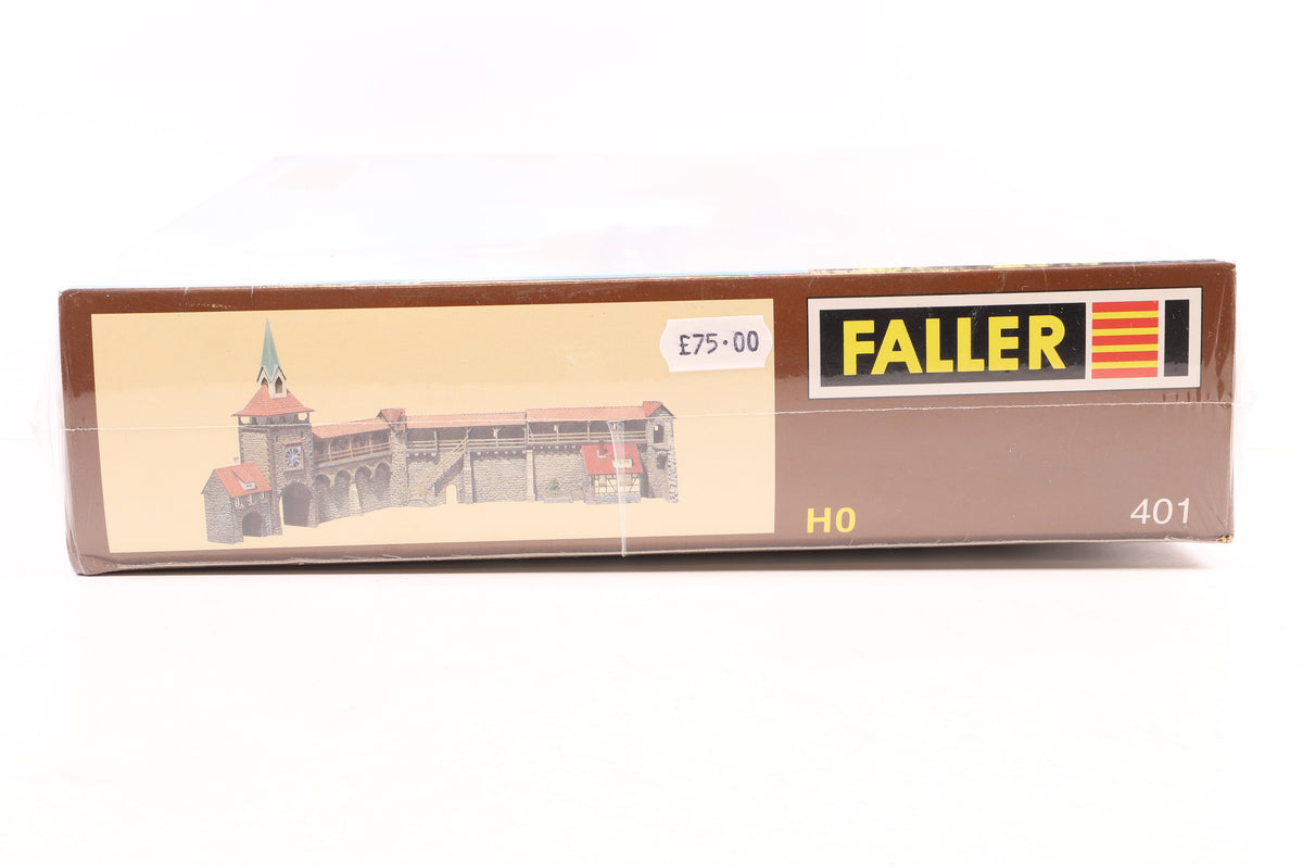 Faller HO 401 Old Town Wall Set