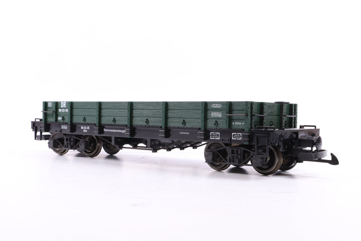 LGB G Scale 42610 2 DR Low Sided Gondolas