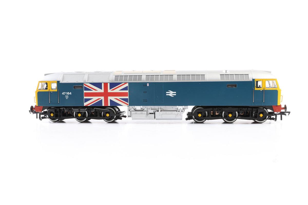 Bachmann OO 25-2014 Silver Anniversary box set, Jubilee Class 45552 & Class 47 47164, Ltd Ed. No. 569 of 1000