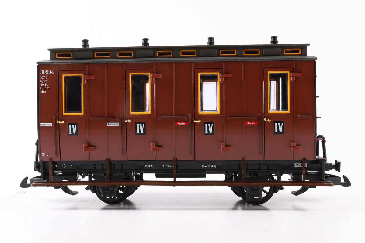LGB G Scale 30503 European 3rd/4th K.L Passenger Car