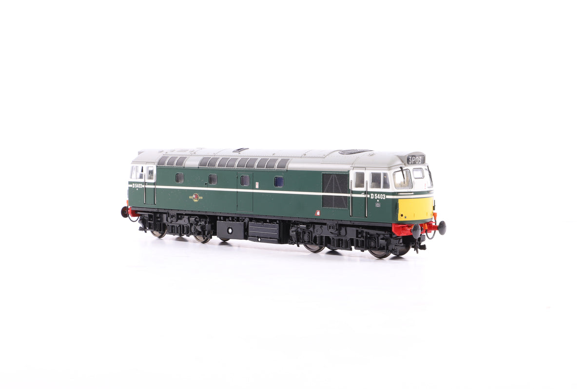 Heljan OO 2712 Class 27 D5403 BR Green w/Small Yellow Panels