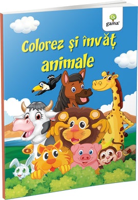 Colorez și învăț animale