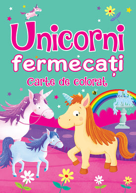 Unicorni Fermecati - Carte De Colorat, Brown Watson