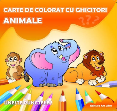 Carte de colorat - Animale