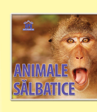 Animale sălbatice - carte pliata