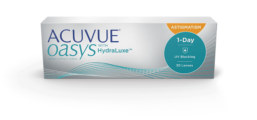 Acuvue Oasys 1-Day Hydraluxe For Astigmatism - 30 Pack (From $39)