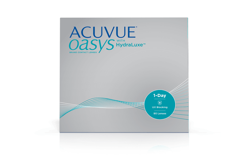Acuvue Oasys 1-Day Hydraluxe - 90 pack (From $81.50)