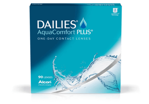 Aqua Comfort Plus Dailies 90 Pack (From $57.50 After Rebate)