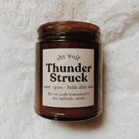 Thunder Struck Soy Candle