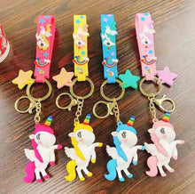 Load image into Gallery viewer, Unicorn Keychain